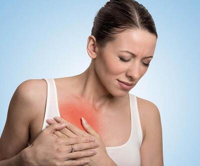 Kadınlarda oluşan göğüs ağrılarına dikkat