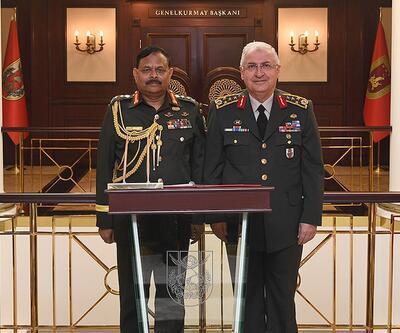 Genelkurmay Başkanı Orgeneral Güler Bangladeşli komutanla görüştü
