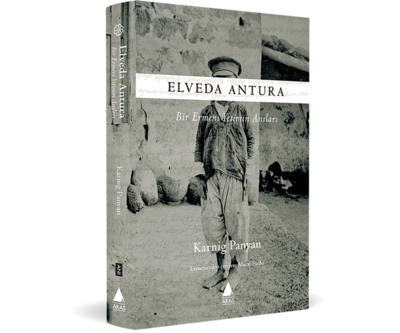 Aras'tan yeni kitap: Elveda Antura