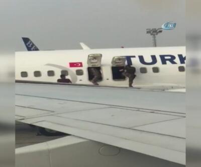 Atatürk Havalimanı'nda nefes kesen özel harekat tatbikatı