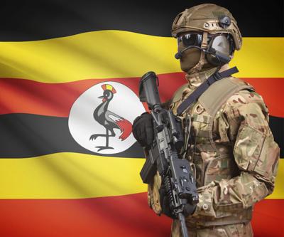 Uganda ordusundan ilgi çekici kampanya