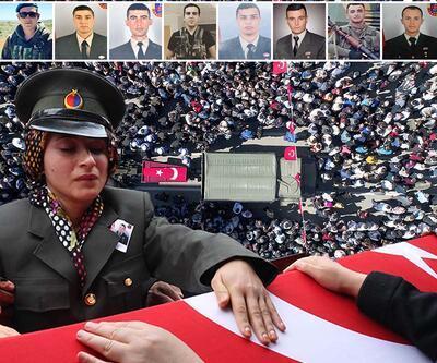 Türkiye yasta: Batman şehitleri son yolculuklarına uğurlandı