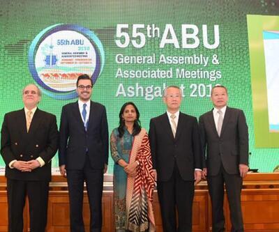 Asya Pasifik Yayın Birliği ( ABU ) Başkan Yardımcısı İbrahim Eren oldu