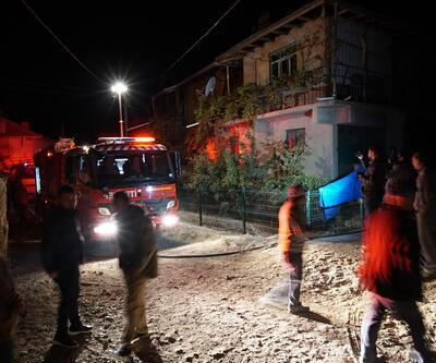 Yaşlı çift çıkan yangında evde mahsur kaldı: 1 ölü, 1 yaralı