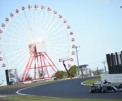 Lewis Hamilton F1 Japonya'nın birincisi