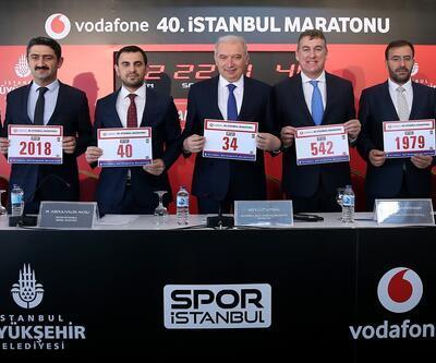 Vodafone 40. İstanbul Maratonu 11 Kasım'da koşulacak