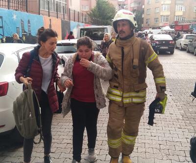 İstanbul Şirinevler'de okulda yangın: Öğrenciler tahliye edildi