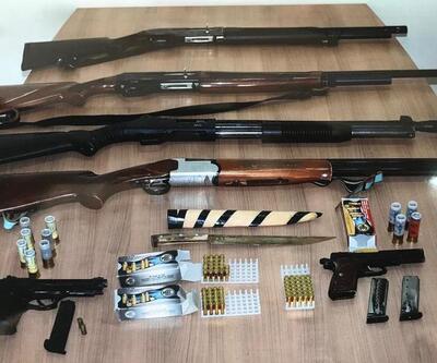 Amasya merkezli silah kaçakçılığı operasyonunda 2 tutuklama