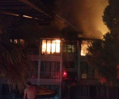 Butik otelde yangın çıktı, kullanılamaz hale geldi