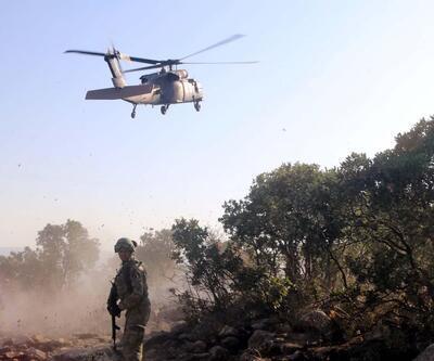 Komandolar, Herekol Dağı'nı teröristlerden temizledi