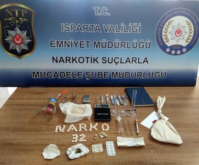 Isparta'daki uyuşturucu operasyonunda 7 tutuklama