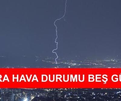 Ankara hava durumu 18 Ekim - 22 Ekim verileri | Meteoroloji son dakika hava durumu verileri