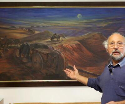Aydın Ayan'ın retrospektif sergisi sanatseverlerle buluştu