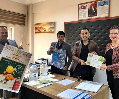 Çiftlikköy Belediyesi'nden atık pil toplama kampanyasına destek