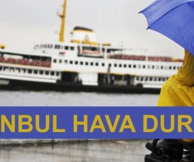 Meteoroloji'den beş günlük İstanbul sıcaklık hava durumu verileri (sağanak yağmur geliyor)