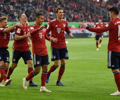 Wolfsburg 1-3 Bayern Münih / Maç Özeti