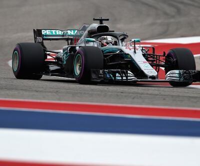 Lewis Hamilton ilk sırayı aldı