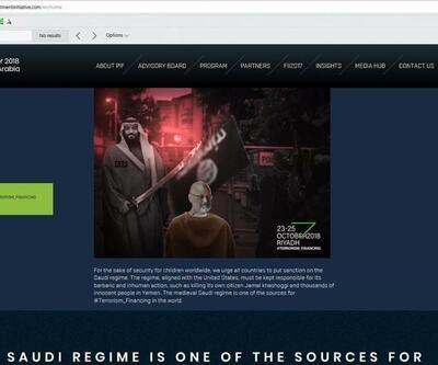 Prens Selman'ın konferansının sitesi hacklendi