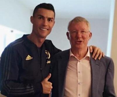 Cristiano Ronaldo, Alex Ferguson'la buluştu