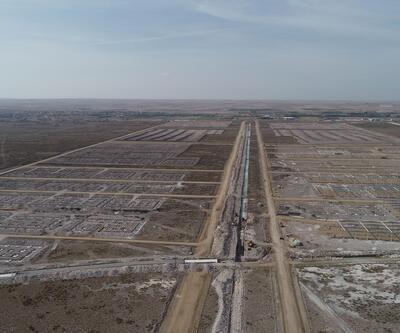 Aksaray'da yeni sanayi projesinin inşaat çalışması sürüyor