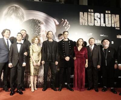 Müslüm filmi gala gösteriminde izleyiciyle buluştu