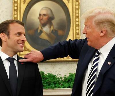 Macron ve Trump İstanbul'da yapılacak zirveyi konuştu