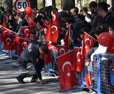 Malatya'da Cumhuriyet Bayramı coşkusu
