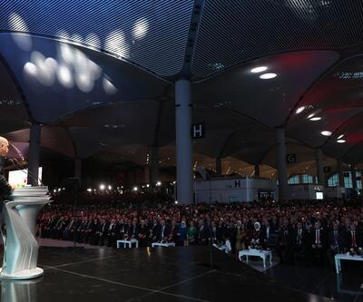 İstanbul Havalimanı açılış töreninden kareler