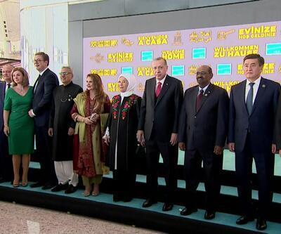 Tarihi açılışa devlet başkanları da katıldı