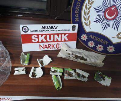 Aksaray'daki uyuşturucu operasyonunda 3 tutuklama