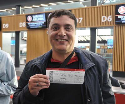 İstanbul Havalimanı'ndan ilk ticari uçuş heyecanı