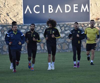 Yeni Malatyaspor'lu Murat ve Fabien'in hedefi üst sıralar