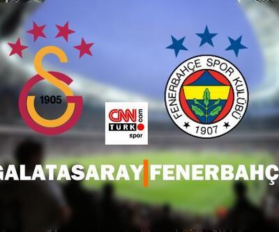 Galatasaray Fenerbahçe maçı ne zaman, saat kaçta? İşte son durumlar...