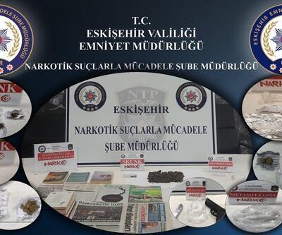 Eskişehir'de uyuşturucu operasyonu: 19 gözaltı