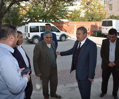 Başkan Çerçi, yol çalışmalarını inceledi