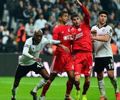 Beşiktaş sahasında şoku yaşadı
