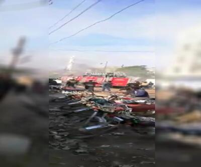Son dakika: Cerablus'ta bombalı saldırı