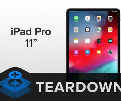 Yeni iPad Pro parçalarına ayrıldı
