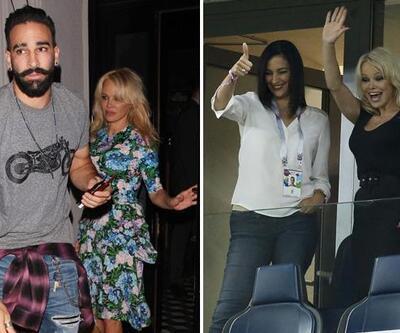 Pamela Anderson geldi, Rami şov yaptı