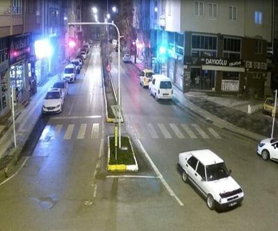 Drift yaparken mobeseye yakalanan sürücüye ceza