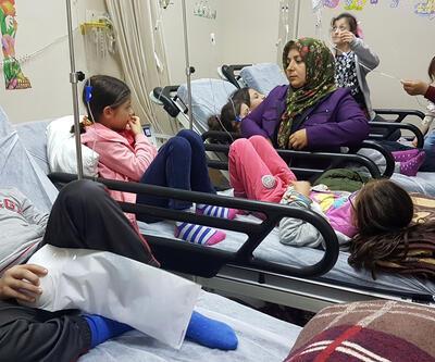 Trabzon'da 25 öğrenci zehirlenme şüphesiyle hastaneye kaldırıldı