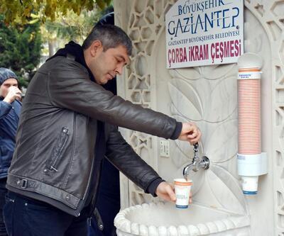 Gaziantep'te günde 5 bin kişiye çorba ikramı