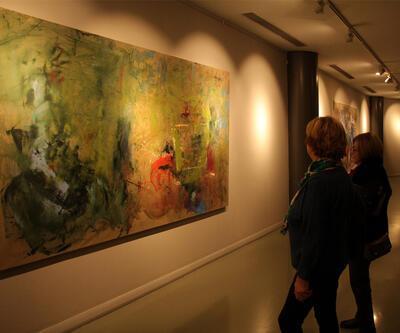 Pınar Ervardar'ın 'Işıklı Düşlerim' sergisi açıldı
