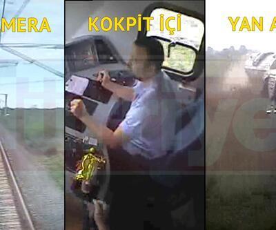 Çorlu'daki tren kazasının görüntüleri ortaya çıktı!