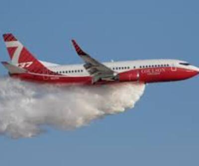 Yolcu uçağı yangın söndürme uçağına dönüştü