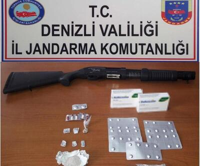 Denizli'de uyuşturucu ticaretine 3 tutuklama