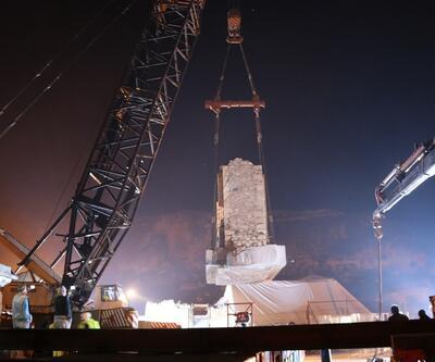 Hasankeyf'teki Eyyubi Camisi'nin taşınma çalışmaları başladı