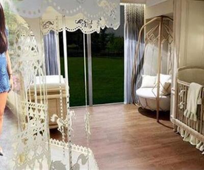 Arda Turan'ın oğlu Hamza Arda'nın odası