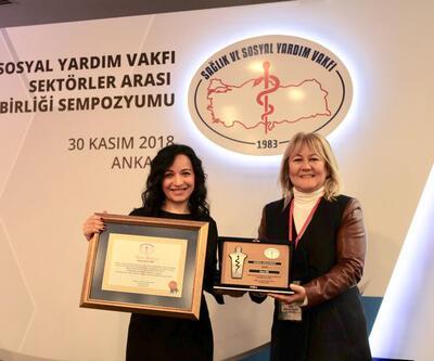 Sağlık ve Sosyal Yardım Vakfı'ndan Cnnturk.com'a ödül