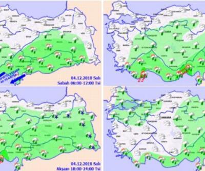 Hava durumu bugün nasıl? Meteoroloji'den İstanbul Ankara sıcaklık verileri